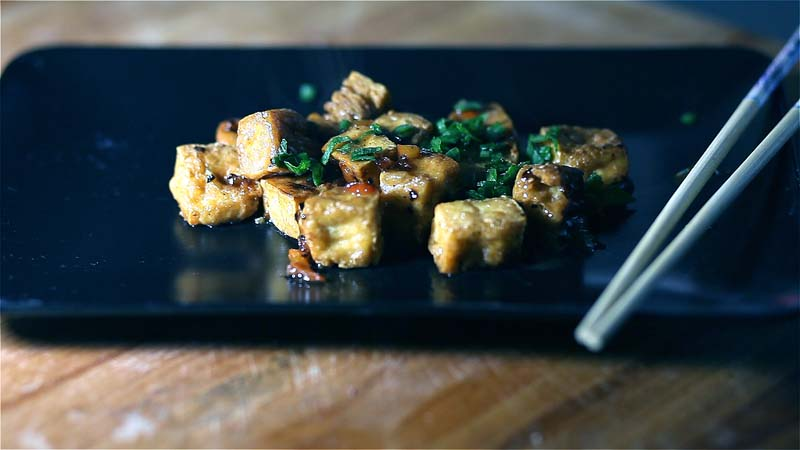 Tofu sale e pepe - CINAINCUCINA - La Cucina Cinese in Italia