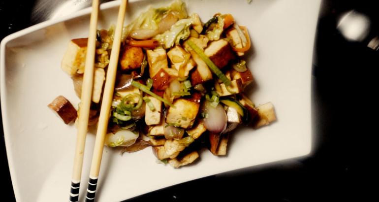 abbastanza Tofu affumicato con verdure - CINAINCUCINA - La Cucina Cinese in  JX27