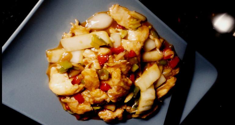 Pollo con germogli di soia e zenzero cinaincucina la for Lecitina di soia in cucina