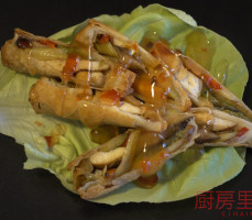 Involtini con verdure e Tofu
